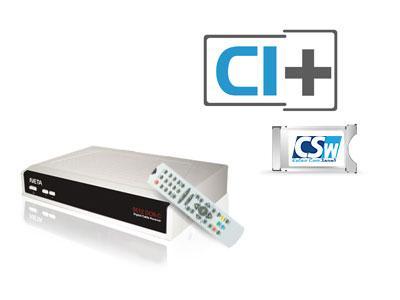 Цифров приемник или CI модул за телевизия